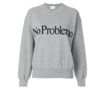 No Problemo embroidered sweatshirt