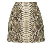 mini skirt with slits