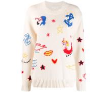 Pullover mit Meerjungfrau
