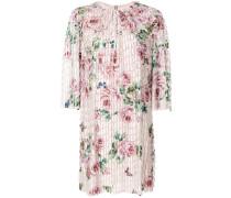 floral print fringe style dress