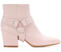 adjustable strap ankle boots