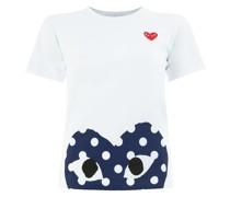 T-Shirt mit Herz-Print