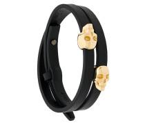 'Atticus Skull' Wickelarmband