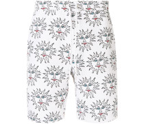 Alexander embroidered relaxed shorts