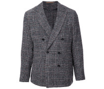 Glen check jacket