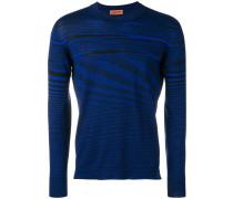 Pullover mit abstrakten Streifen