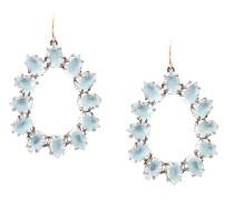Caterina small frame earrings
