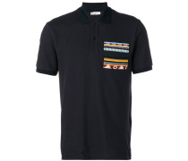 Poloshirt mit Patch