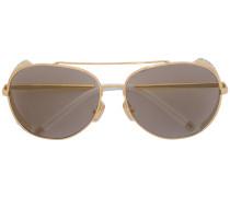 Pilotenbrille mit Verzierung