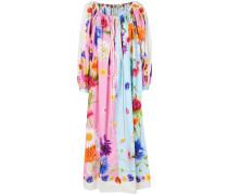 oversized floral dress