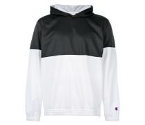 colourblock pullover hoodie