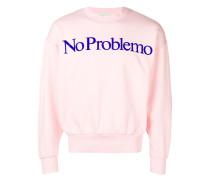 "Sweatshirt mit ""No Problemo""-Slogan"