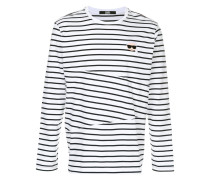 Karl striped sweatshirt
