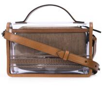 Transparente Handtasche mit Täschchen