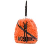 Mohair bucket bag
