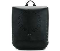 Perforierter Rucksack mit Logo