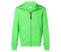 Goggle zip hoodie