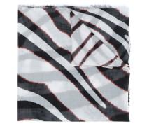 Schal mit Zebra-Print