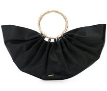 Halbrunde Handtasche