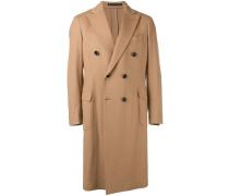 Mantel mit doppelter Knopfleiste