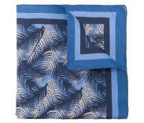 leaf print pocket square
