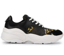 Sneakers mit Barock-Print