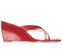 'Theresa' Wedge-Sandalen, 70mm