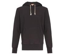 drawstring long-sleeve hoodie