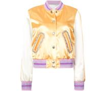 Varsity-Jacke mit Kristallbesatz - Unavailable