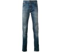 Skinny-Jeans mit Einsätzen