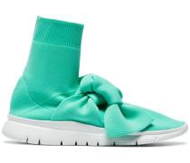 High-Top-Sneakers mit Schleife