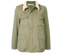 pearl collar field jacket