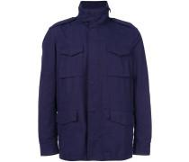 Jacke mit aufgestetzten Taschen