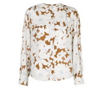 'Tropical Blooms' Bluse