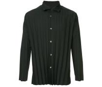 Button-Down-Hemd mit Falten