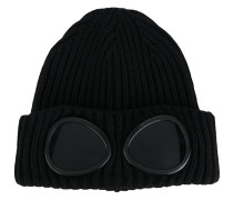 Beanie mit Linsen-Applikation
