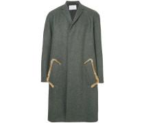 Mantel mit Ellenbogen-Patch