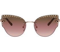 embellished cat-eye sunglasses