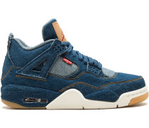 Nike x Levi's 'Air  4 Retro' Sneakers