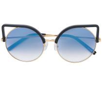 Klassische Cat-Eye-Sonnenbrille