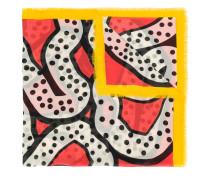 Rhizo abstract print scarf