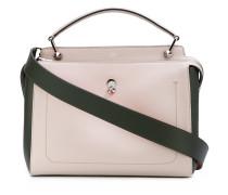 'Dotcom' Handtasche in Colour-Block-Optik