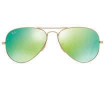 Polarisierte 'Aviator' Sonnenbrille