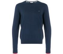 Sweatshirt mit Kontrastbesatz