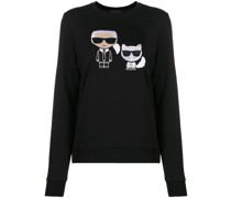 'Ikonik Karl Choupette' Pullover