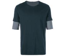 layered sleeve T-shirt