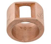 'Crescent Plane' Ring