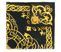 Seidenschal mit Medusa-Detail