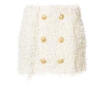 Tweed-Rock mit Knöpfen