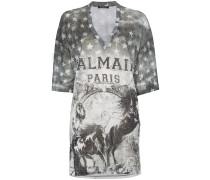 T-Shirt mit Pferde-Logo